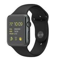 Apple Watch Sport 42mm Space Grey Aluminium with Black Strap