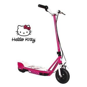 NEW HELLO KITTY ELECTRIC SCOOTER 24V ELECTRIC - DYNACRAFT - KIDS - SCOOTER 103672013