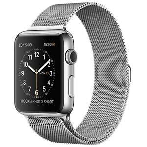 Apple Watch 42mm Stainless Steel with Milanese Loop for $699