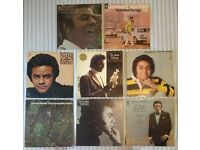 "8 x Johnny Mathis 12"" vinyl records/LPs, 9 records in total, £45 ONO"