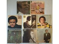 """8 x Johnny Mathis 12"""" vinyl records/LPs, 9 records in total, £45 ONO"""