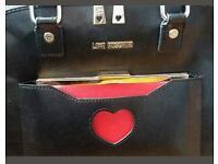 Genuine mochino bag and purse