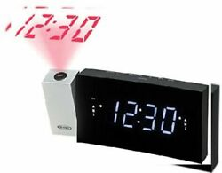 JENSEN JCR-238 Digital Dual Alarm Projection Clock Radio