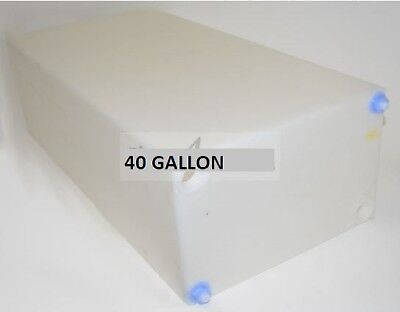 "Fresh Water Tank 40 Gallon RV Holding Drinking 39 1/2"" x 13"" x 18"" Container NEW"