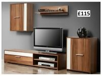 NEW MODERN FURNITURE_WALL UNIT SET FREE DELIVERY