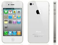 White iPhone 4s, 8 gb, Rogers, no contract *BUY SECURE*