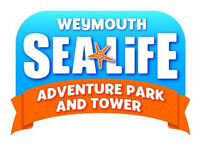 Four Tickets to Sea Life Adventure Park in Weymouth - Saturday 10th February 2018