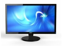 2 acer cb240hy monitors for sale