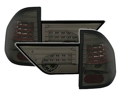ALL SMOKED LED REAR LIGHTS LAMPS FOR THE BMW X3 E83 012004 092006