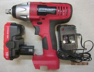 "ToolShop ½"" impact wrench 18 V cordless"