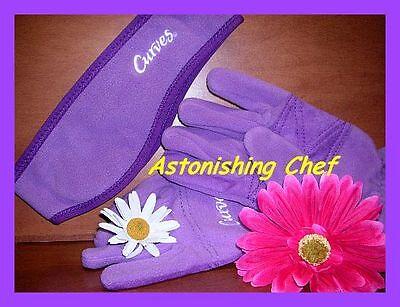 Avon Curves Sporty Fleece Set Gloves & Headband S-m