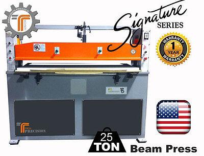 New Cjrtec 25 Ton Beam Clicker Press Hydraulic Die Cutting Machine