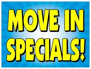 AWESOME AUGUST FLAT RATE DEALS  *Moving 24/7*