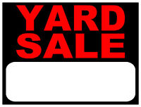 Yard Sale 1280 Glenmore Ave, Kingston Weather permitting