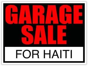 Haiti Deaf Mission Trip Garage Sale: Mississauga - Aug. 18th