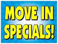 SUPER SEPTEMBER FLAT RATE DEALS *MOVING 24/7*