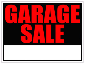 Garage Sale - Sat. May 27th