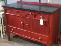 Vintage Sideboard, Refinished!!