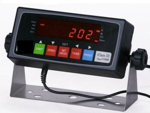 Scale Indicator PS-202 NTEP Readout AC Adapter 110-240v,Rechargeable Battery