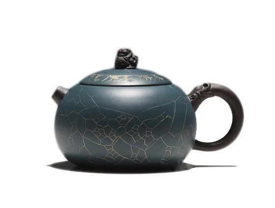 Chinese Yixing pure clay handmade zisha teapot Xiu Shi Hu tea pot 160cc
