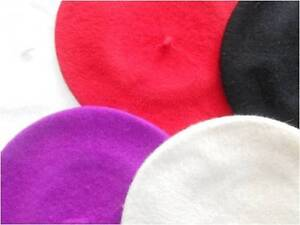 Ladies-High-Quality-100-Wool-French-Beret