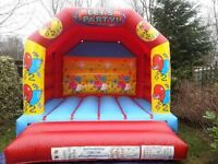 "Bouncy Castles for sale. Two 12"" x 12"" bouncy castles only 2 years old, fantastic condition!"