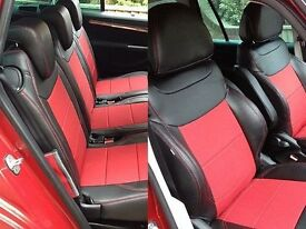 MINICAB/TAXI CAR LEATHER SEAT COVERS TOYOTA PRIUS FORD GALAXY VOLKSWAGEN SHARAN