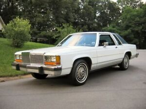 1980s Style Ford Ltd, Mercury Marquis, or Lincoln Towncar
