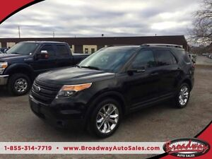 2012 Ford Explorer LIMITED 4WD 7 PASS NAVIGATION SUNROOF 'MY FOR