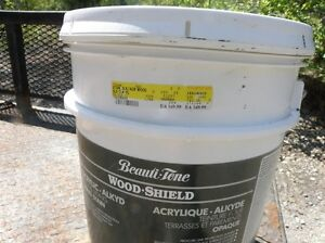 Beauti-Tone Wood Shield Acrylic Alkyd  Solid Stain NEW PRICE 90