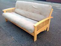 Futon Company solid wood sofa bed