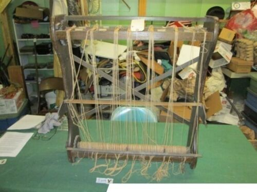 ANTIQUE WEAVING SEWING BLANKET LOOM CIRCA 1880