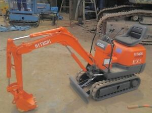 Mini Excavator - Hitachi EX-5