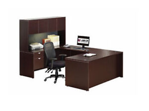 Brand New Laminate Workstations and Matching Cabinets