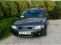 AUDI A4 1,9 TDI BLACK LEATHER VERY LOW MILEAGE