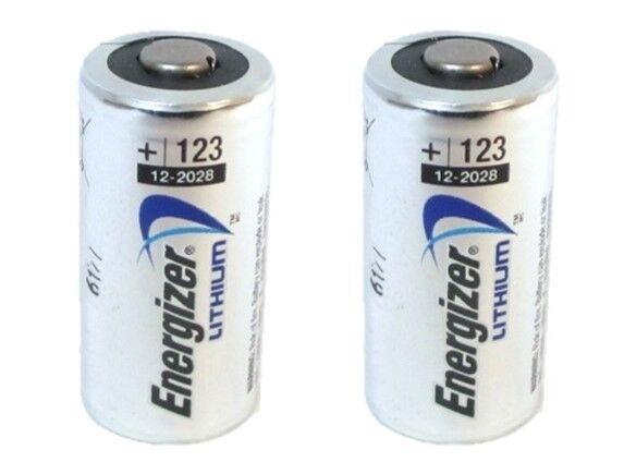 ENERGIZER CR123A CR123 CR 123 123A LITHIUM BATTERY X 2 EXP 2030
