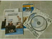 NEW HP photo paper and cd protector