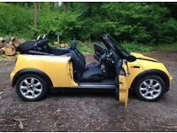 BEAUTIFUL MINI ONE CONVERTIBLE - CHEAP OFFER HURRY!