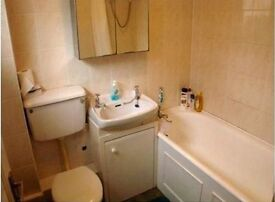 Spacious 1 bed top floor flat available March