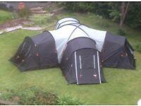 Vango killington 400 4 man tent in WA7