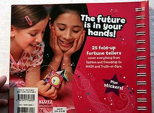 NEW - Cootie Catcher Book - by Klutz Kingston Kingston Area image 3