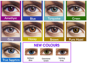 ANY 3 PAIRS/$40! Freshlook 90 Wear Colour Contact Lenses