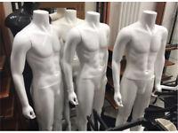 6 x Male Mannequins