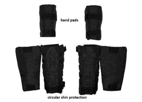 Set of IIIa protection elements: forearms & shin