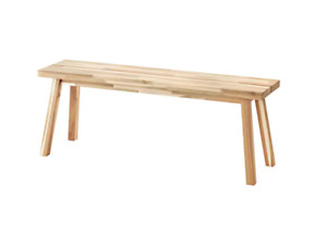 IKEA SKOGSTA acacia Bench – Pick Up Only