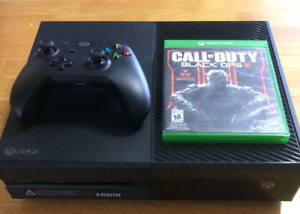 Xbox One 500GB Console W/Controller and Call of Duty Black Ops 3