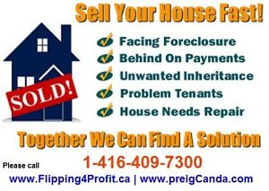 We buy houses FAST for CASH in Grande Prairie in Alberta
