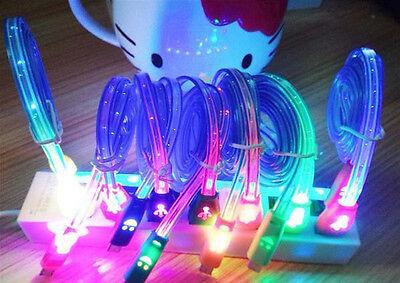 Flashing LED USB Smiley Face Charging - Flashing Smiley
