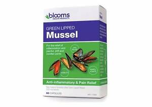 Blooms Green Lipped Mussel 500mg 60 Capsules St Clair Penrith Area Preview
