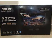 Asus Gaming Monitor 144hz MG279Q